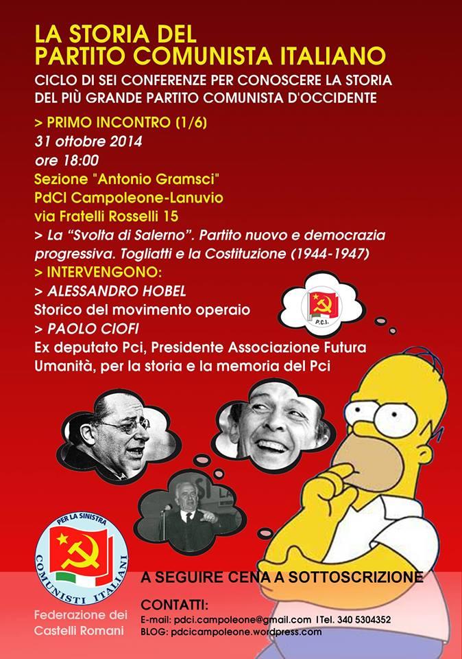 locandina PdCI Campoleone-Lanuvio