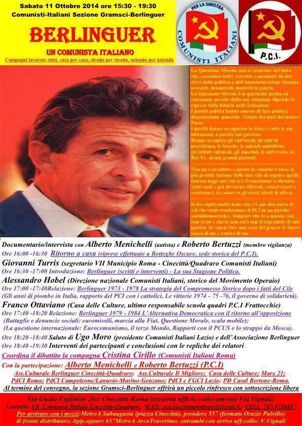pdci-cinecittà Berlinguer