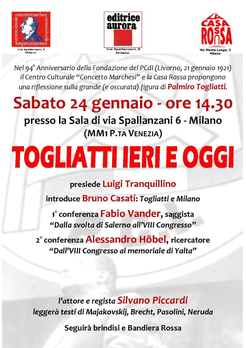 Togliatti Milano