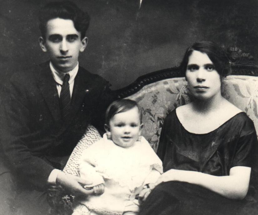 Longo, Teresa e Gigi-1924