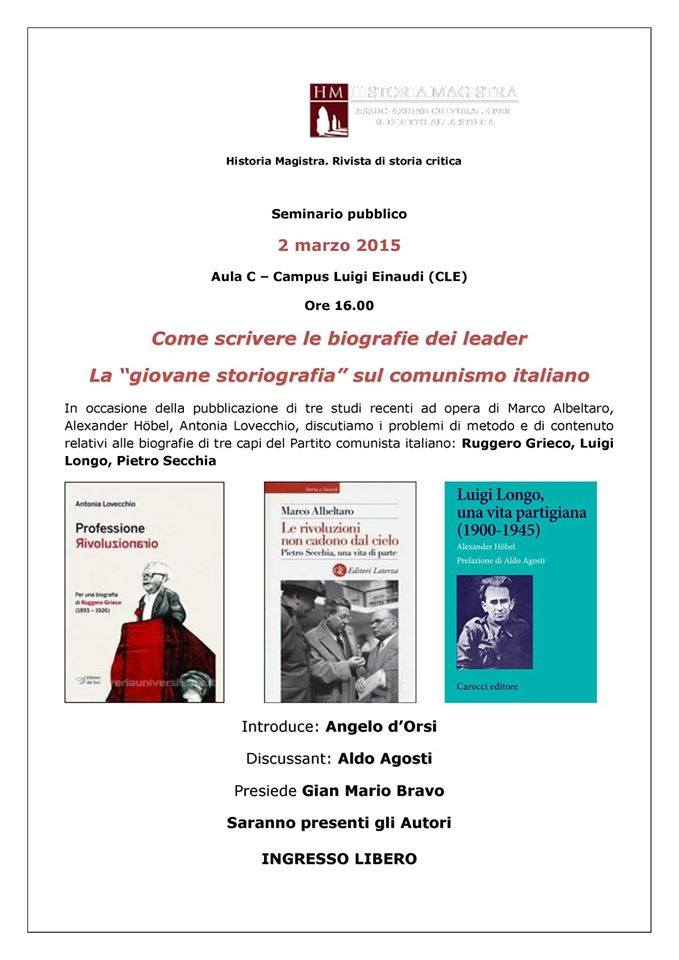 Torino 2 marzo
