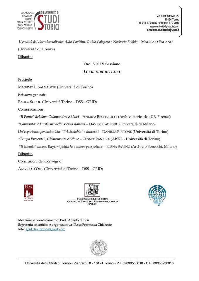 Torino, Associazione Historia Magistra, 27-28 maggio 2015