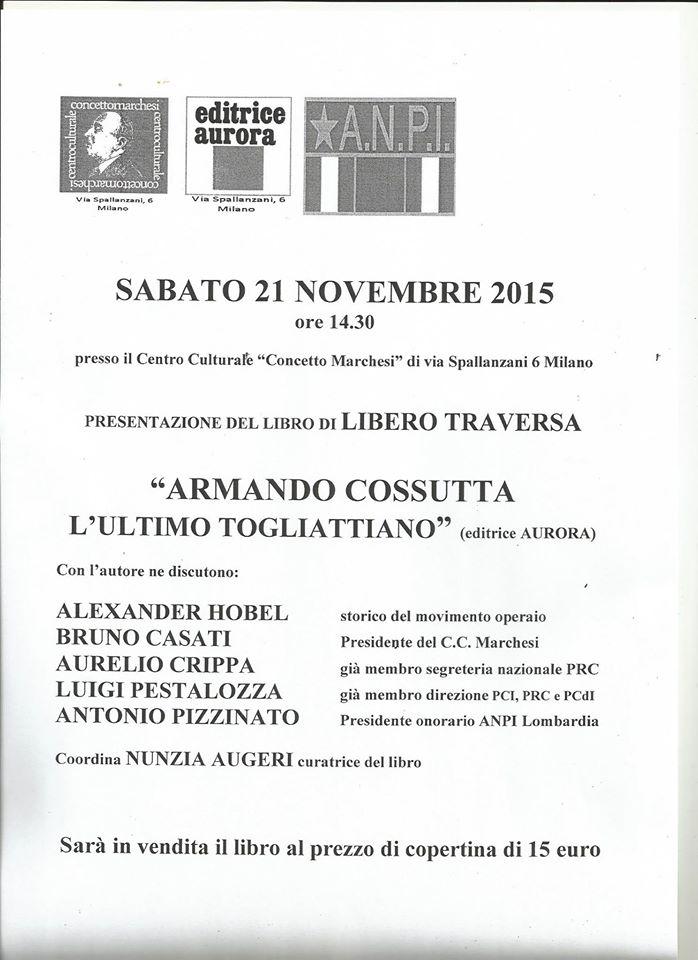 locandina Cossutta